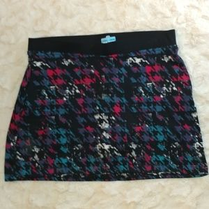 PGA TOUR Geo Printed Golf Skort